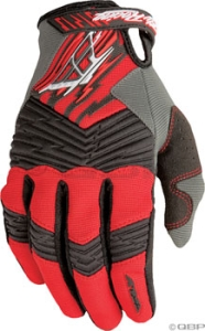 Fly Racing F16 Gloves Red/Black Fly F16 Glove Red/Black Size 4