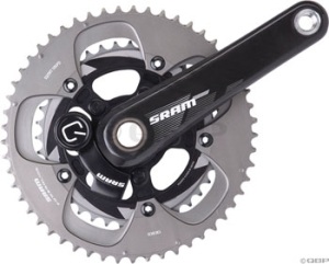 SRAM S975 Quarq GXP Cranksets SRAM S975 Quarq GXP Wireless Powermeter 172.5 3953 Bottom Bracket Not Included