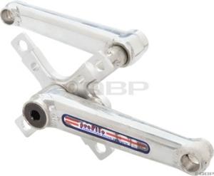 Profile Racing MIcroMini BMX Cranksets Polished Profile MicroMini Crankset 145mm Polished
