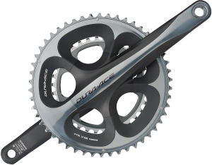 Shimano DuraAce FC7900 Cranksets Shimano DuraAce FC7950 170mm 3450 10Speed Crankset w/o BB