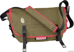 Timbuk2 DLux Laptop Messenger Bags Timbuk2 DLux Messenger Bag MD Black/Gunmetal/Red Stripe
