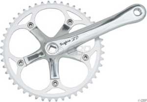 Sugino RD2 Single Speed Cranksets Sugino Single Speed 165mm Road 48t 3/32 130mm Alloy
