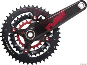 TruVativ Noir XC Cranksets TruVativ Noir XC 3.3 Team 175mm 223244 Redwin No Cups