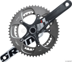 SRAM Red GXP Cranksets SRAM Red GXP 177.5mm 3450 Crankset Bottom Bracket Not Included