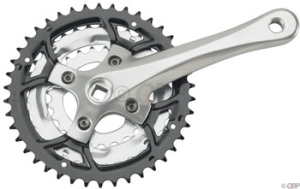 Sugino Impel 150X Cranksets Sugino Impel 150X 175mm 223242 7/8Speed Silver Arms