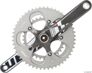SRAM Red Cranksets SRAM Red 165mm 3450 Crankset Bottom Bracket Not Included