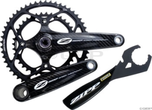 Zipp Speed Weaponry VumaQuad Cranksets ZIPP VumaQuad Crankset 39/53 10Speed 170mm BB not included