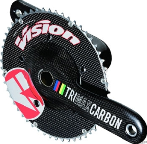 Vision TriMax TT Crank/Bottom Brackets Sets Vision TriMax TT 175mm Crank 54/42t with Ceramic Bottom Bracket