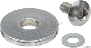 Problem Solvers Cable Pulley Aluminum Silver Problem Solvers Cable Pulley Aluminum Silver