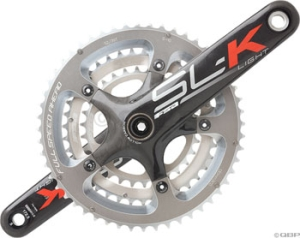 FSA Full Speed Ahead SLK Light Triple MegaExo Crank/Bottom Brackets Sets FSA SLK Light Triple MegaExo 165mm 303952 with Bottom Bracket