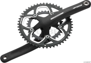 FSA Full Speed Ahead Omega Road Compact Crank/Bottom Brackets Sets FSA Omega Compact 172.5mm 3450t Crankset Black with Bottom Bracket