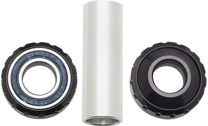 Profile Racing Euro BMX Bottom Brackets Profile Racing Outboard Bearing Bottom Bracket Silver