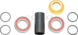 Odyssey 22mm Mid Bottom Bracket Gold Odyssey 22mm Mid Bottom Bracket Gold