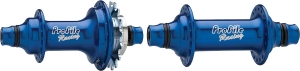 Profile Racing Elite Hub Sets Profile Racing ELITE Hub Set, Blue, 36h 3/8 Axles