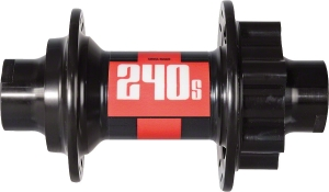 DT Swiss 240s SixBolt Disc Front Hubs DT Swiss 240s Front 32h 6Bolt Disc 9mm Axle with RWS 2010