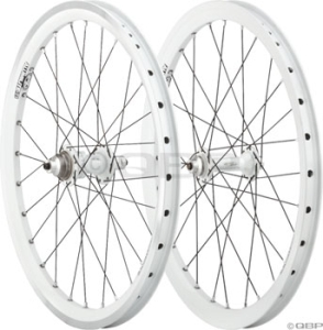 Answer BMX Limited Edition White Ti Expert 20x1.5 Wheelset Answer BMX Limited Edition White Ti Expert 20x1.5 Wheelset