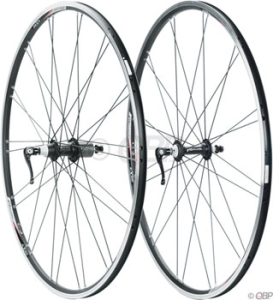 AClass ALX320 700c 16/20h Wheelset Black AClass ALX320 700c 16/20h Wheelset Black