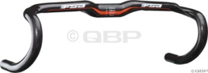FSA Full Speed Ahead KWing Compact Drop Handlebars FSA KWing Compact 44cm 31.8mm White Carbon Bar