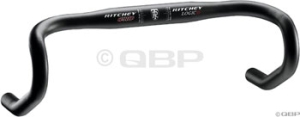 Ritchey Pro Logic Drop Handlebars Ritchey Logic Pro 46cm 26.0 Single Groove Black