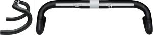 3T Ergonova Pro Drop Handlebars 3T Ergonova Pro 38cm Black