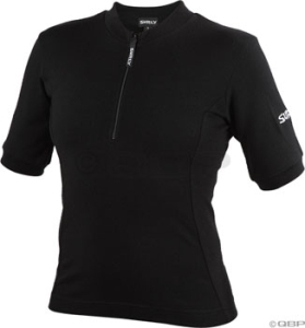 Surly Women's Short Sleeve Wool Jerseys Surly Women's Short Sleeve Wool Jersey Black MD