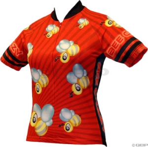 World Jerseys Bee Crazy Jerseys World Jerseys Bee Crazy Red LG
