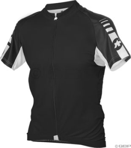 Assos Short Sleeve Uno Jerseys Assos Short Sleeve Uno Jersey Black XL