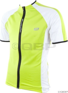Bellwether Edge Jerseys Bellwether Edge Short Sleeve Jersey Acid/White/Black MD