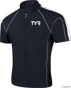 TYR Male Cycling Jerseys TYR Male Cycling Jersey Navy/Blue 2XL