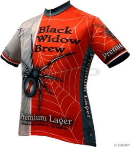 World Jerseys Black Widow Jersey World Jerseys Black Widow XL