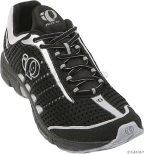 Pearl Izumi Men's Peak XC Running Shoes Black/Silver Pearl Izumi Peak XC Men's Run Shoe 9.0 Black/Silver