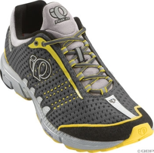 Pearl Izumi Men's Peak XC Running Shoes Shadow Gray/Silver Pearl Izumi Men's Peak XC Run Shoe 10.0 Shadow Grey/Silver