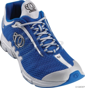 Pearl Izumi Men's Streak Running Shoes Silver/Water Blue Pearl Izumi Streak Men's Run Shoe 9.5 Silver/Water Blue