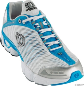 Pearl Izumi Women's syncroFloat III Running Shoes Pearl Izumi syncroFloat III Women's 10.0 White/Blue Run Shoe