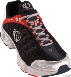 Pearl Izumi Men's syncroFloat III Running Shoes Pearl Izumi Men's syncroFloat III size 10.0 Black/Red Run Shoe