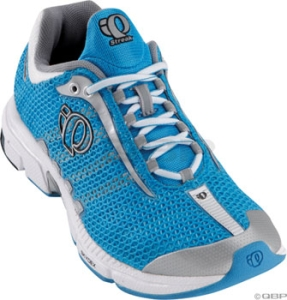 Pearl Izumi Women's Streak Running Shoes Pearl Izumi Streak Women's Run Shoe 11.0 Silver/Pacific Blue