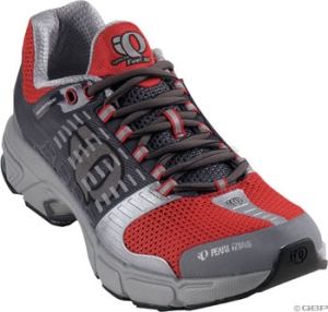 Pearl Izumi Men's syncroFuel XC Running Shoes Pearl Izumi Men's syncroFuel XC size 10.5 Red/Gray
