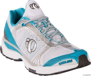 Pearl Izumi Womens ISOShift Running Shoes Pearl Izumi Womens ISOShift Run Shoe White/Caribbean Size 9