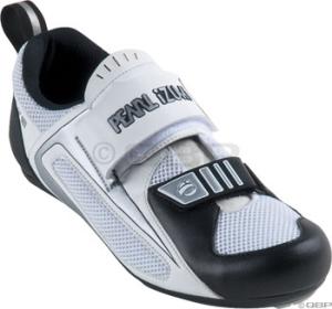 Pearl Izumi Men's Tri Fly III Tri Shoes Pearl Izumi Men's Tri Fly III size 44 White/Black