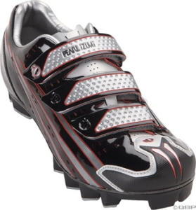 Pearl Izumi Octane SL II MTB Mountain Shoes Pearl Izumi Octane SL II MTB size 41.5 Black/Silver