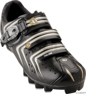 Pearl Izumi Men's Elite II Mountain Shoes Pearl Izumi Men's Elite MTB II size 41.5 Black/Silver