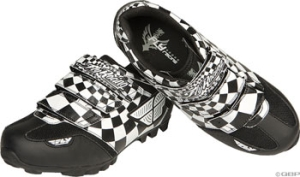 Fly Racing Talon II Mountain Shoes Checkmate Fly Racing Talon II SPD Shoe Checkmate Size 7