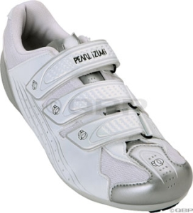 Pearl Izumi Women's Select Road Shoes Pearl Izumi Women's Select RD size 37 White/Silver