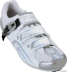 Pearl Izumi Women's Race Road Shoes Pearl Izumi Women's Race RD White/Silver 41.5
