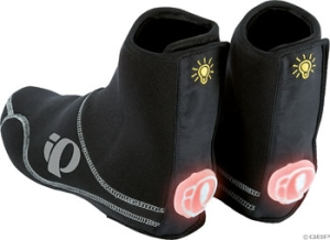 Pearl Izumi Shine Shoe Covers Pearl IzumiI Shine Shoe Cover Black MD