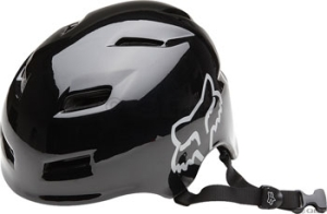 Fox Racing Transition Helmets Fox Racing Transition Helmet Gloss Black SM/MD