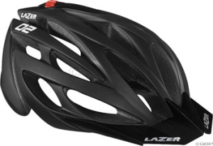 Lazer O2 XC Helmets Lazer O2 XC Helmet with Visor Matte Black Unisize 5361cm