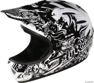 Fly Racing Chaos Youth Helmet Fly Racing Chaos Youth Helmet Black MD 4950cm