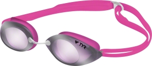 TYR Tracer Femme Swim Goggles TYR Tracer Femme Goggle Metallic Pink