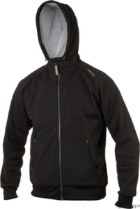 Craft Flex Hood Jackets Craft Flex Hood Full Zip Black Lg